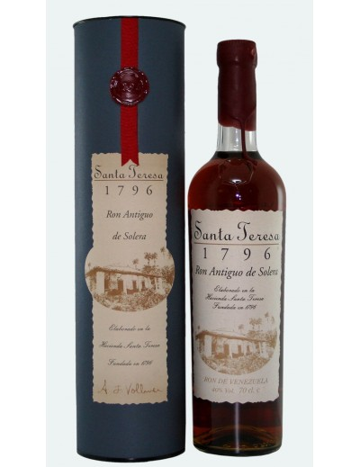 """Rum """"Solera 1796"""" Santa Teresa"""