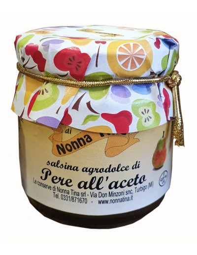 Chutney pere all'aceto Gr. 100