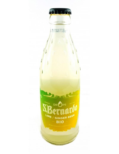 Lime Ginger Beer Bio San Bernardo Drops Cl. 26