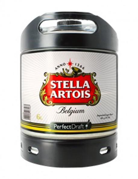 Fusto Stella Artois Lt. 6