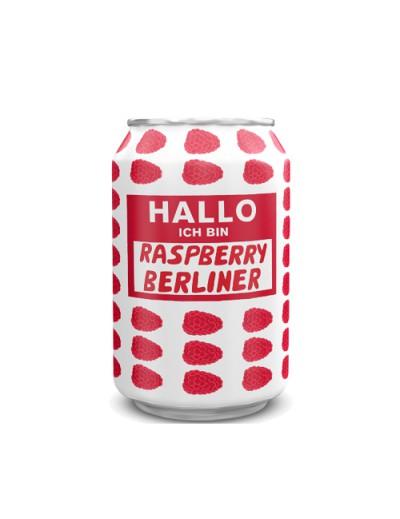 HALLO ICH BIN BERLINER WEISSE RASPBERRY latt. cl.33